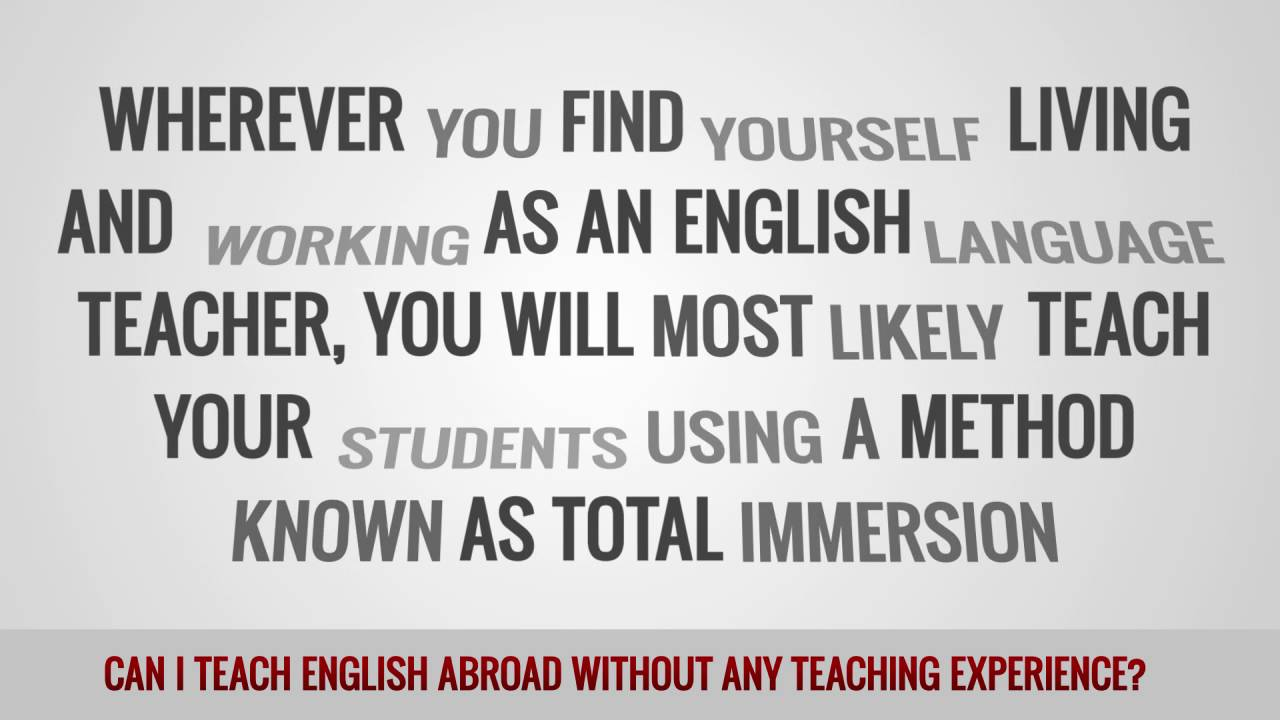 ITTT FAQs – Can I teach English abroad without any teaching experience?