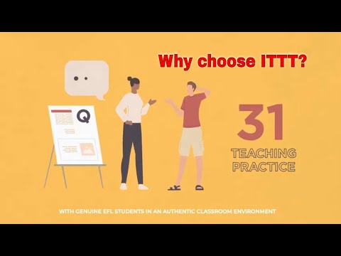 Why choose TEFL Certification with ITTT: Gain Teaching Practice