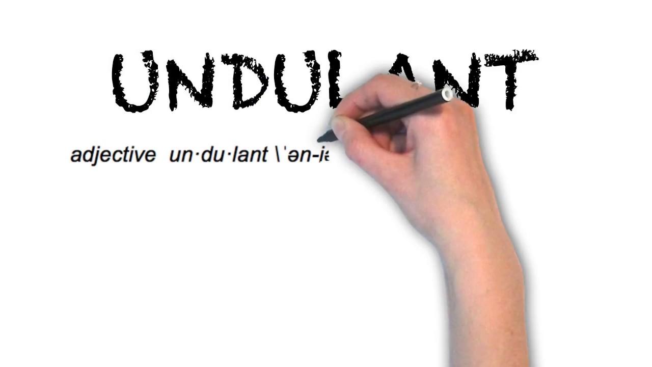 How To Pronounce 'UNDULANT'   Ask Linda!   Pronunciation