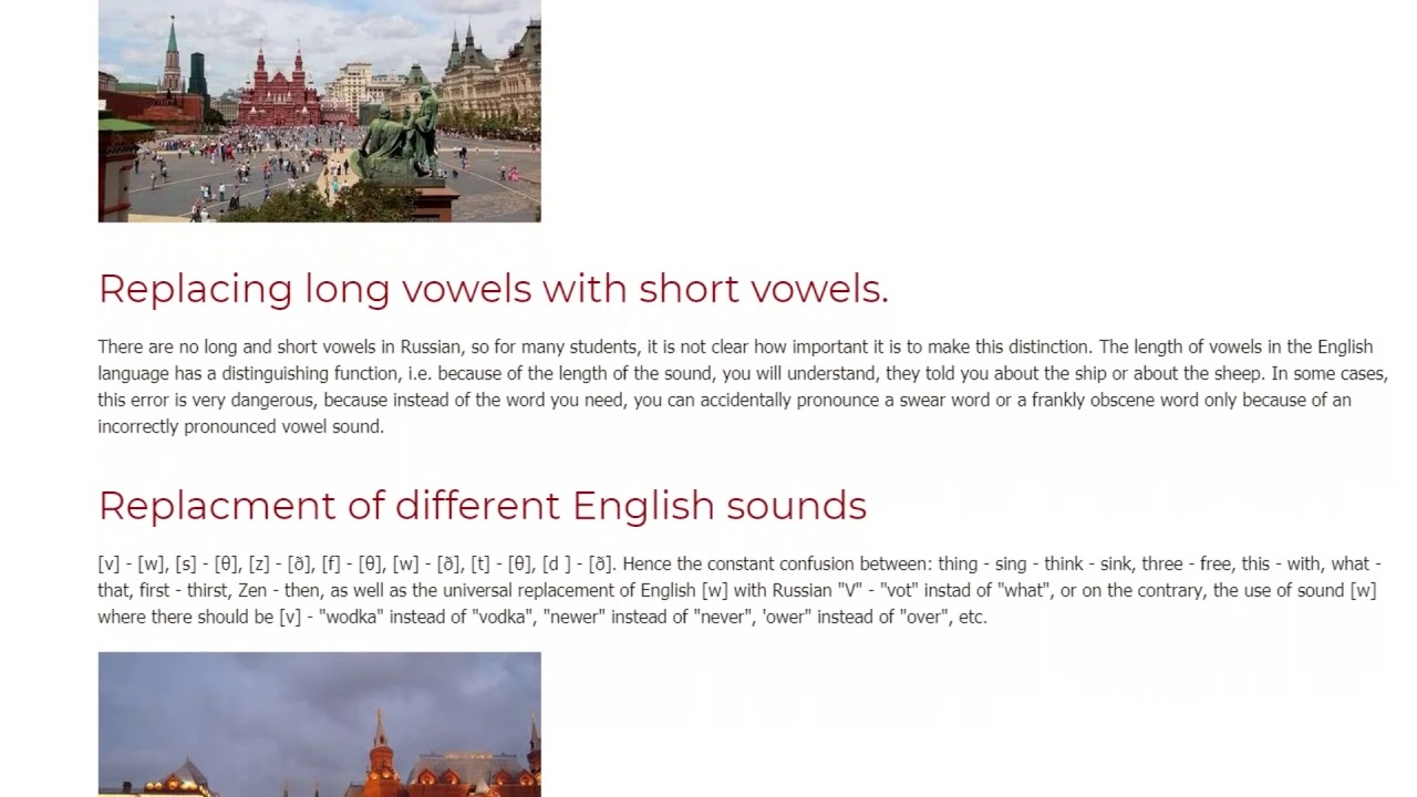 The Most Common Problems Students in Russia Face When Learning English   ITTT TEFL BLOG