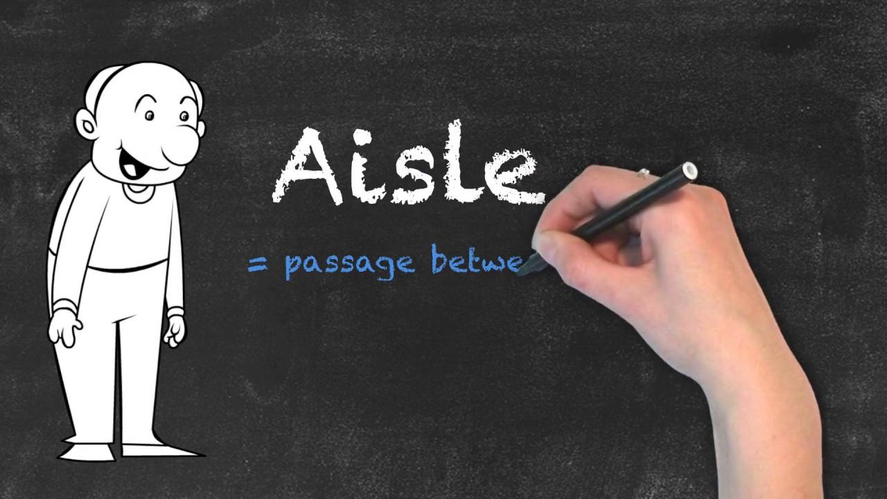 Aisle vs Isle | Ask Linda! | English Grammar