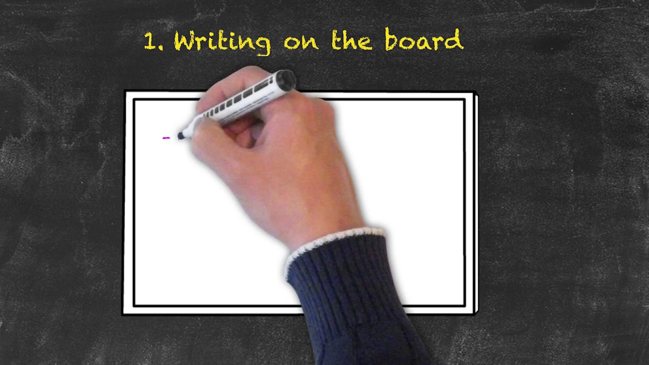 Classroom Management for Teaching English as a Foreign Language – Writing on the Board