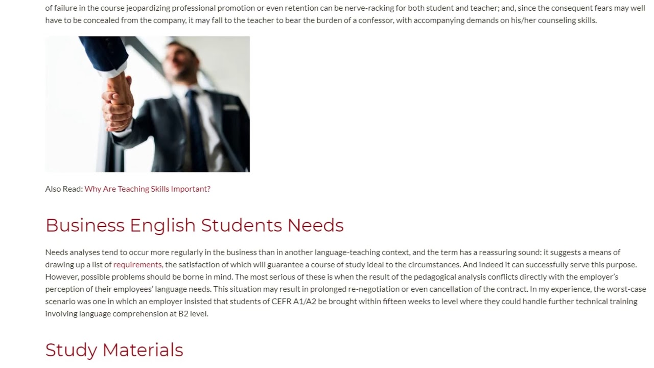 The Most Striking Pros and Cons of Teaching Business English | ITTT TEFL BLOG