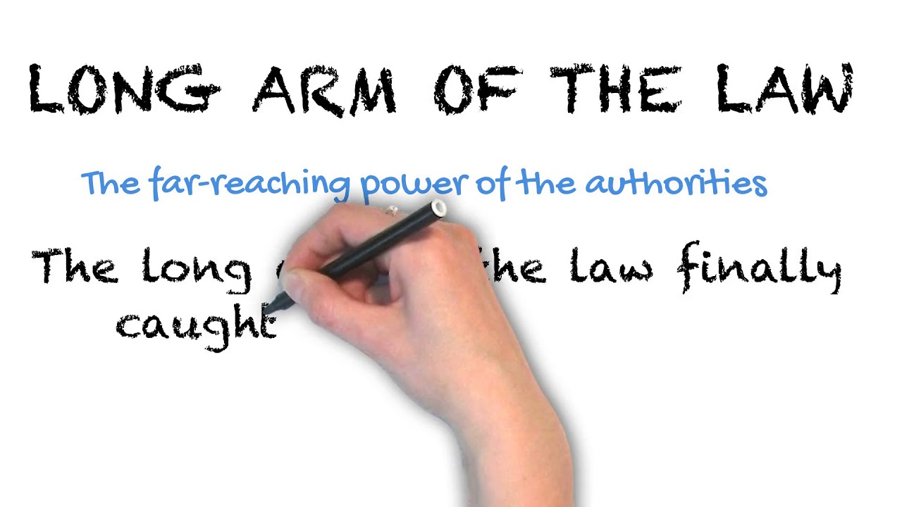 Long Arm Of The Law | Ask Linda! | Idioms