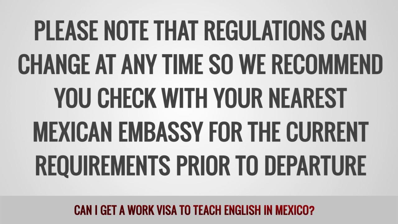 ITTT FAQs – Can I get a work visa to teach English in Mexico?
