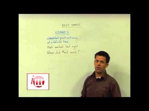 English Grammar – Past Simple — Usage – Online English Teacher