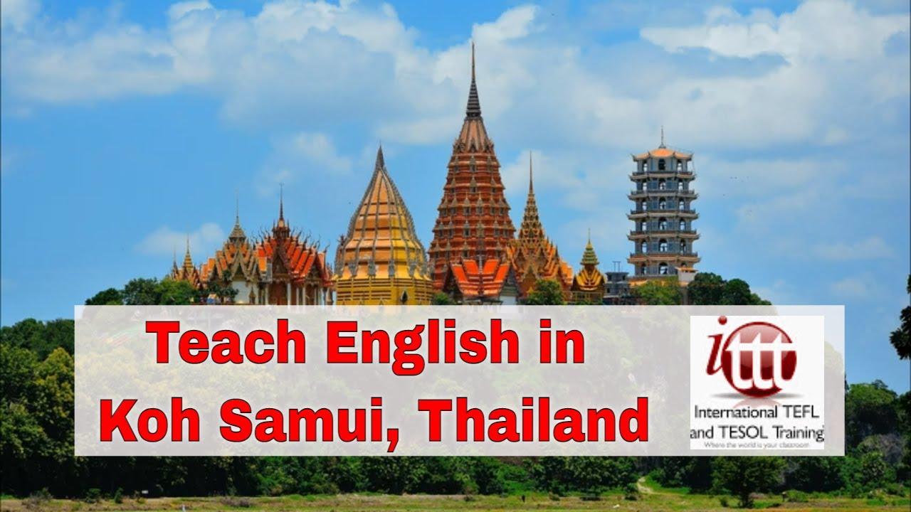 Teaching English Abroad: Koh Samui Thailand