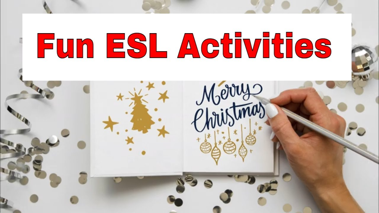 Amazing Winter and Christmas ESL Activities – Holiday Extravaganza