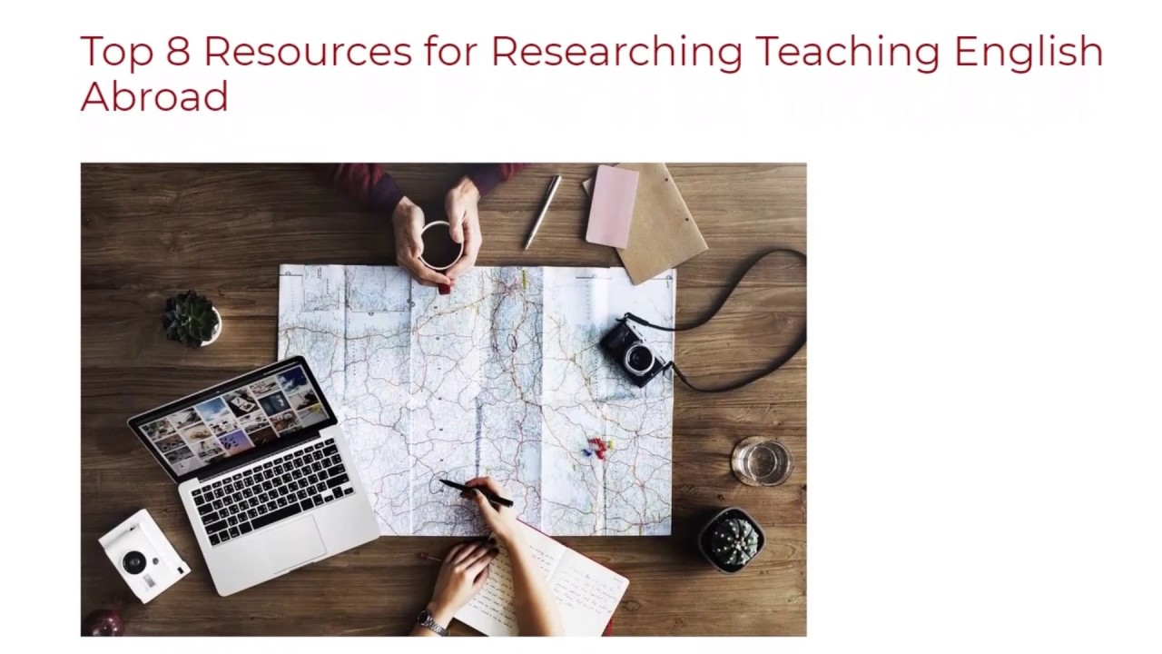 Top 8 Resources for Researching Teaching English Abroad | ITTT TEFL BLOG