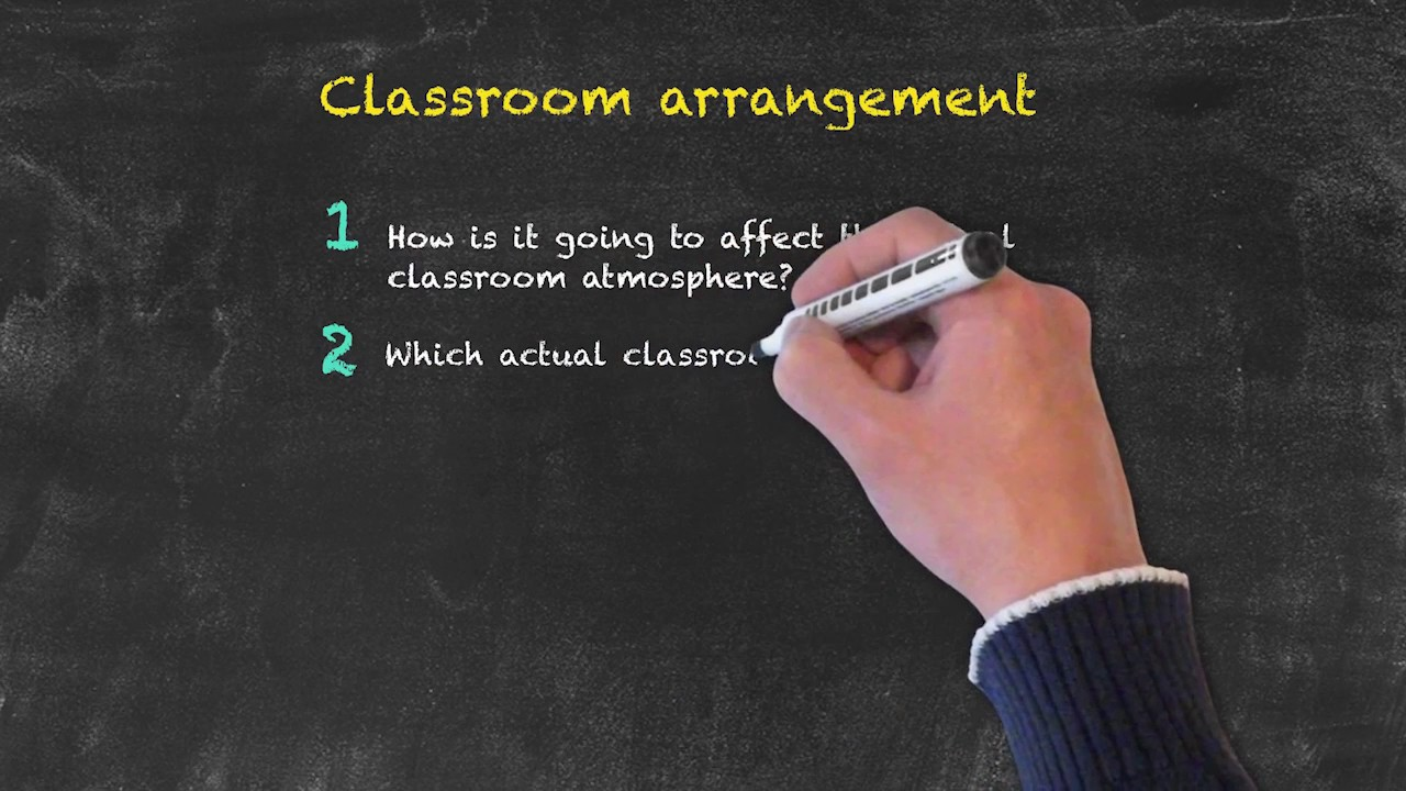 Classroom Management for Teaching English as a Foreign Language – Classroom Arrangement