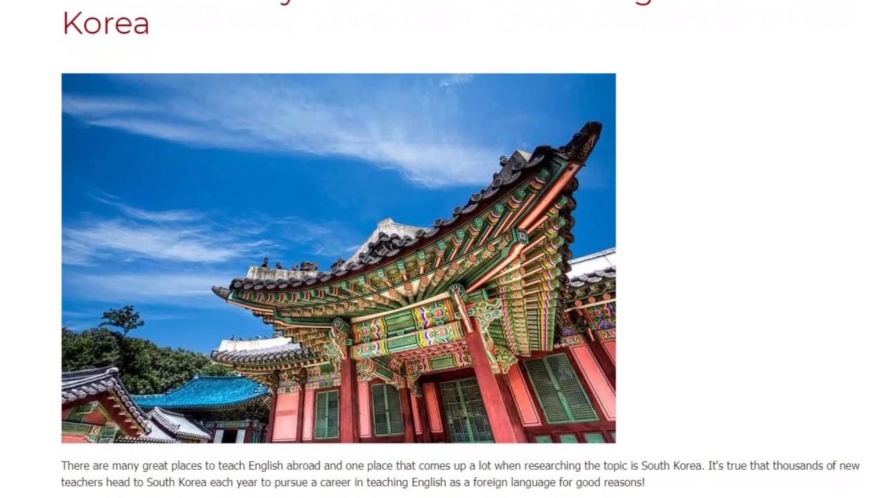 5 Reasons Why You Should Teach English in South Korea | ITTT TEFL BLOG