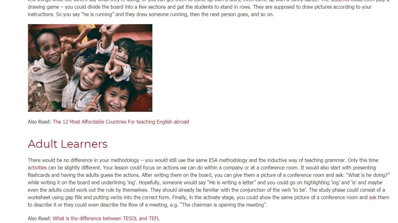 How Grammar Influences a Language Acquisition | ITTT TEFL BLOG