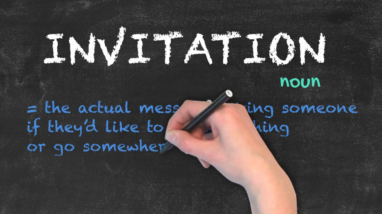 Invite vs Invitation | Ask Linda! | English Grammar