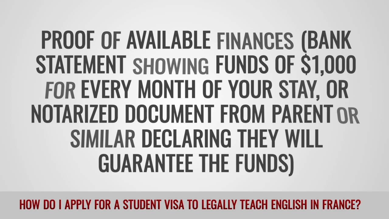 ITTT FAQs – How do I apply for a student visa to legally teach English in France?