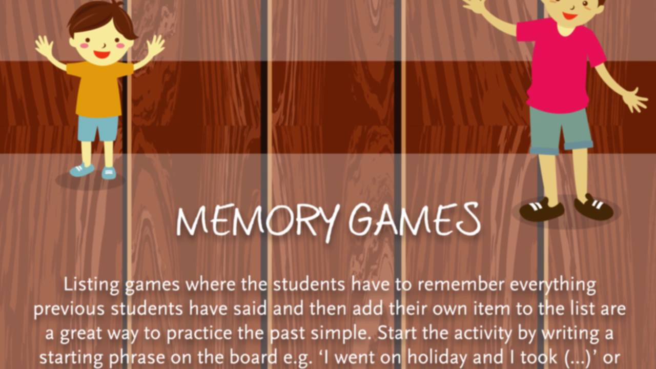 10 Activities for the Past Simple
