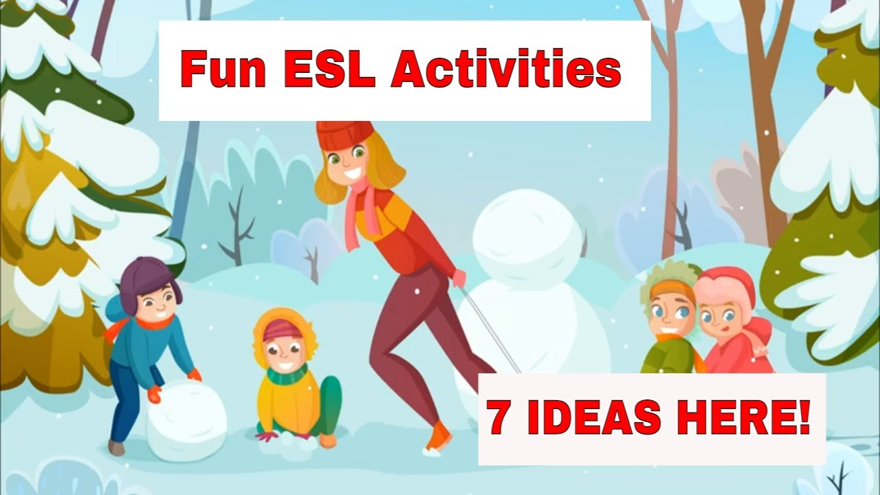 7 Amazing Winter and Christmas ESL Activities Your Students Will Love
