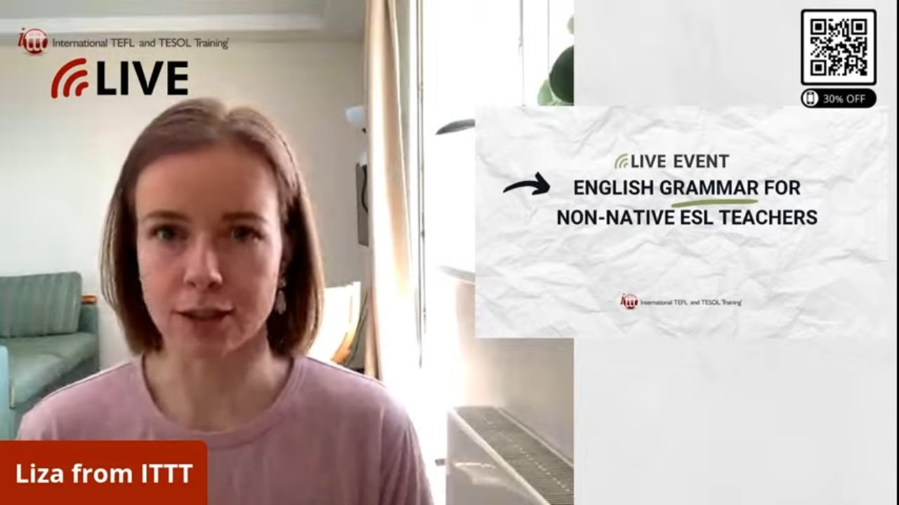 Advanced English Grammar for Non-Native ESL Teachers