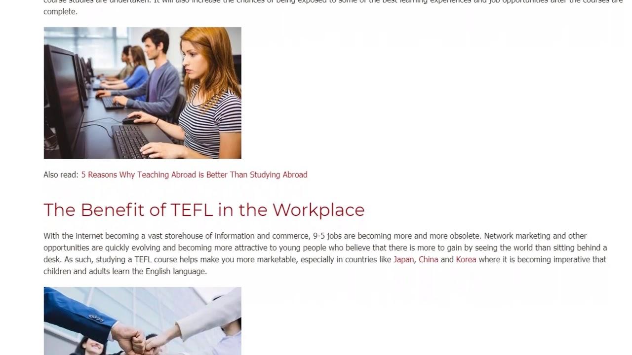 How Globalization Has Fueled the TEFL Boom | ITTT TEFL BLOG