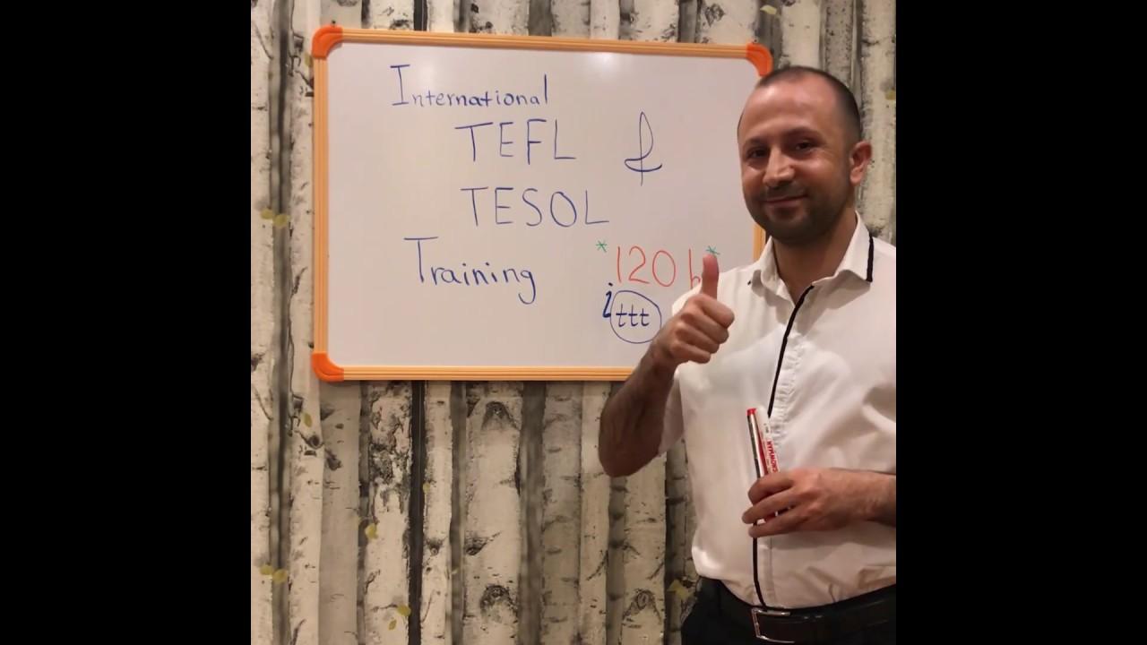 TESOL TEFL Reviews – Video Testimonial – Nima