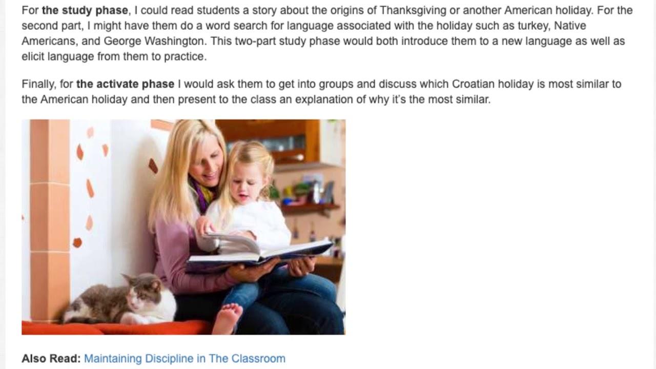 2 Sample Lesson Plans to Incorporate Storytelling in the EFL Class | ITTT | TEFL Blog