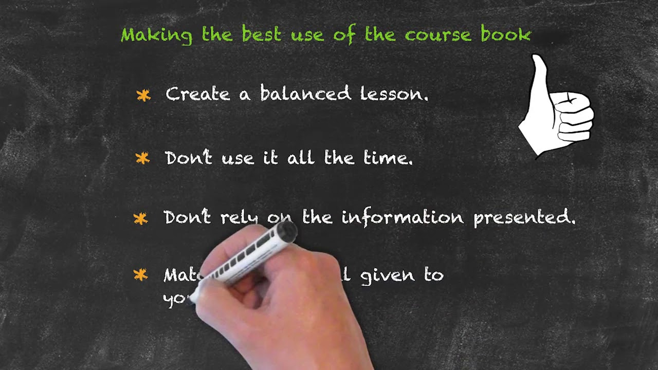 Coursebooks and materials – Best Use of the Coursebook