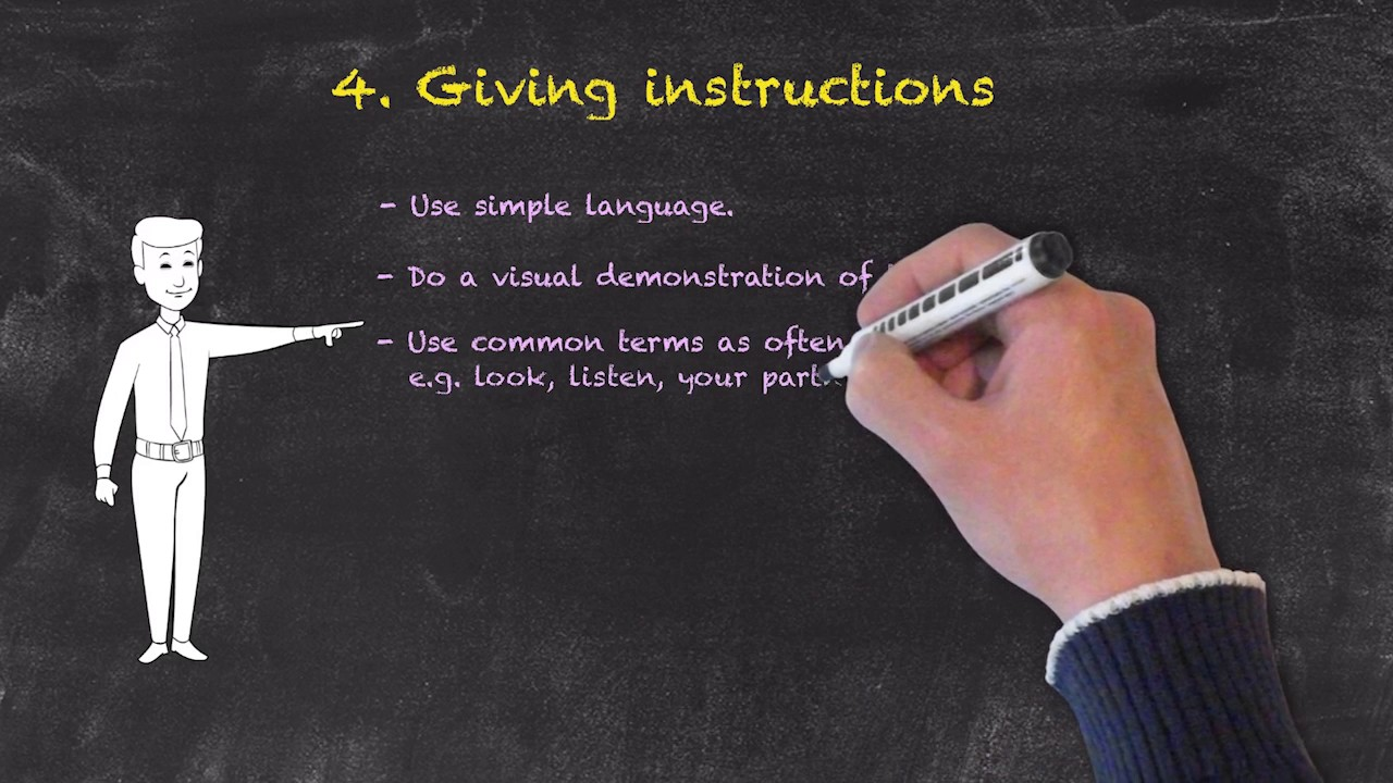 Classroom Management for Teaching English as a Foreign Language – Giving Instructions