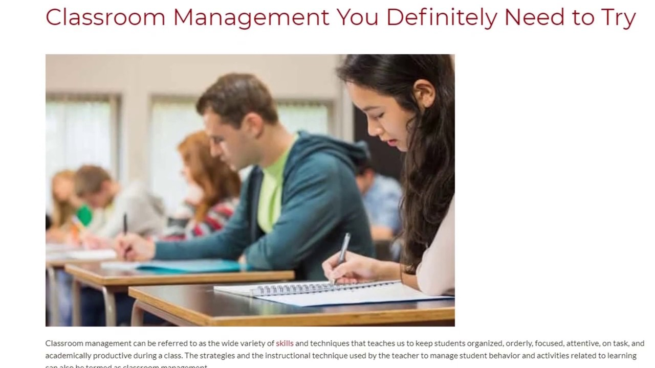 Classroom Management You Definitely Need to Try | ITTT TEFL BLOG