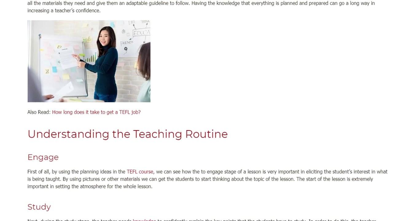 Factors Influencing Teacher's Confidence | ITTT TEFL BLOG
