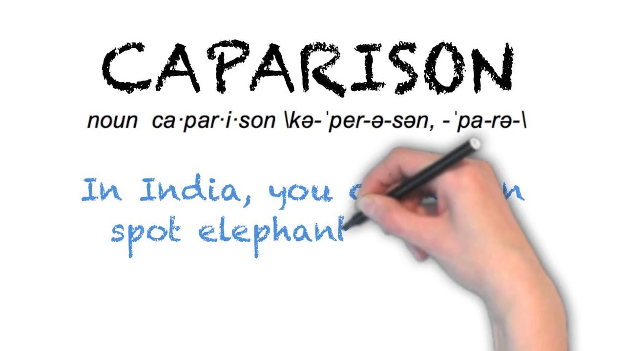 How To Pronounce 'CAPARISON' | Ask Linda! | Pronunciation