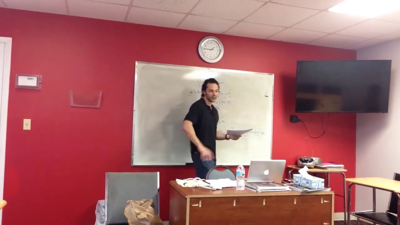 OTP English Lesson – Richard – Study Phase – Quantifiers and Enough