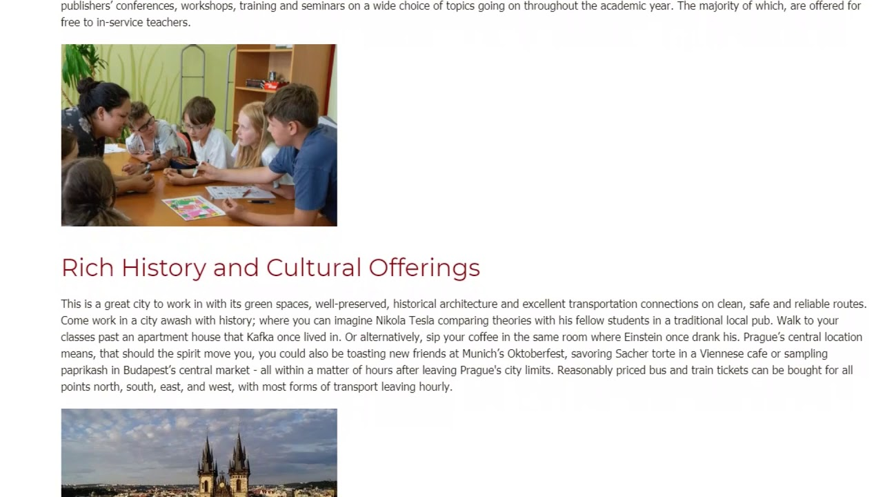 Why Prague is the Ideal Place to Teach English | ITTT TEFL BLOG