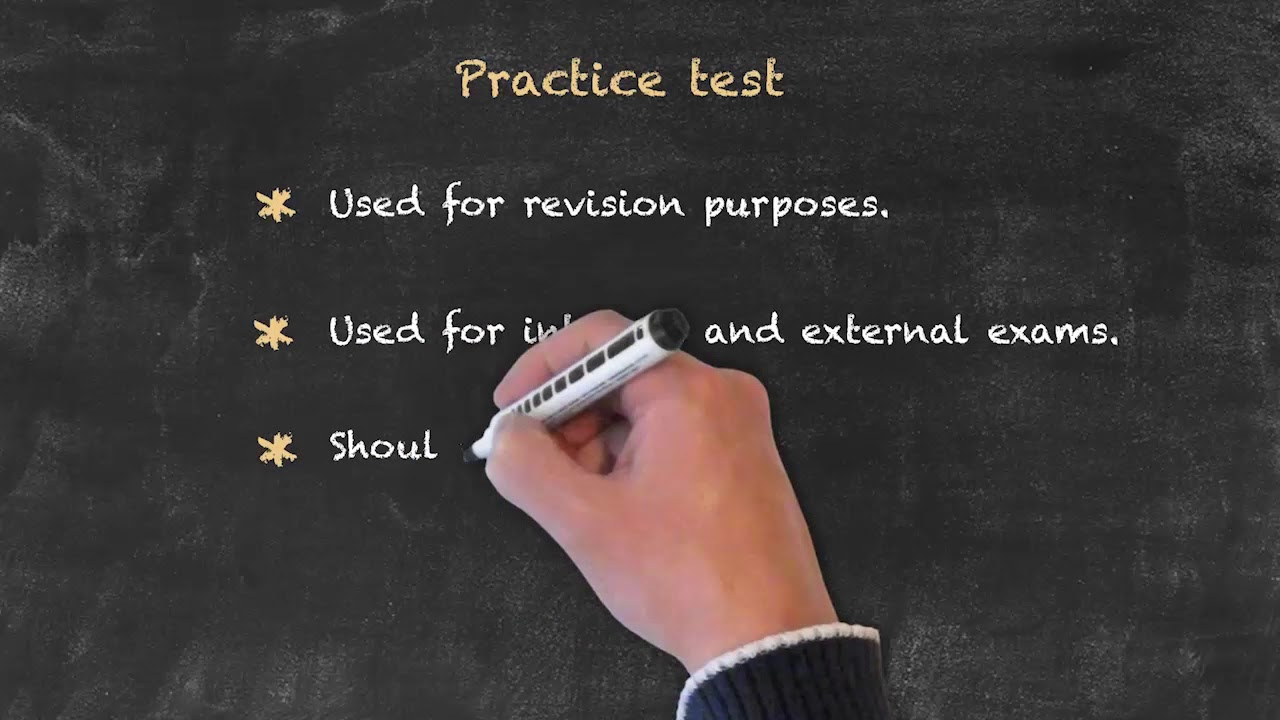 Evaluation and Testing of Students – Practice & External Proficiency Tests
