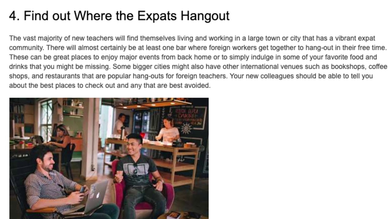 Top 5 Tips for Making Friends While Teaching English Abroad | ITTT TEFL BLOG