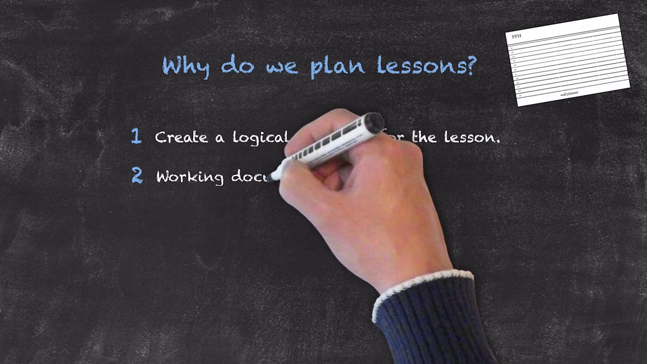 Lesson Planning – Part 1 – Why do we plan lessons?