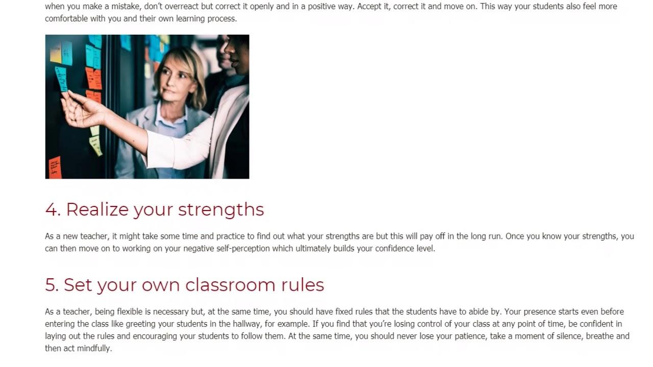 6 Steps To Becoming a More Confident Teacher   ITTT TEFL BLOG