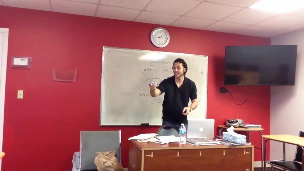 OTP English Lesson – Richard – Study Phase – Large and Small Quantifiers II