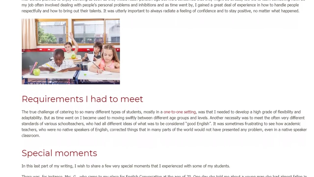 Why I Love Teaching English as a Foreign Language Abroad – TEFL Alumni's ESL Story   ITTT TEFL BLOG
