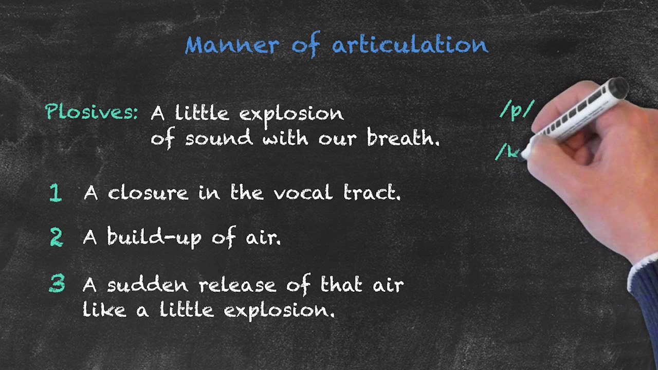 Pronunciation and Phonology in the EFL Classroom – Manner of Articulation Pt. 1