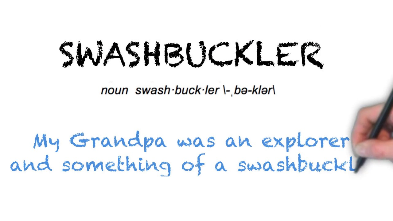 How To Pronounce 'SWASHBUCKLER'   Ask Linda!   Pronunciation