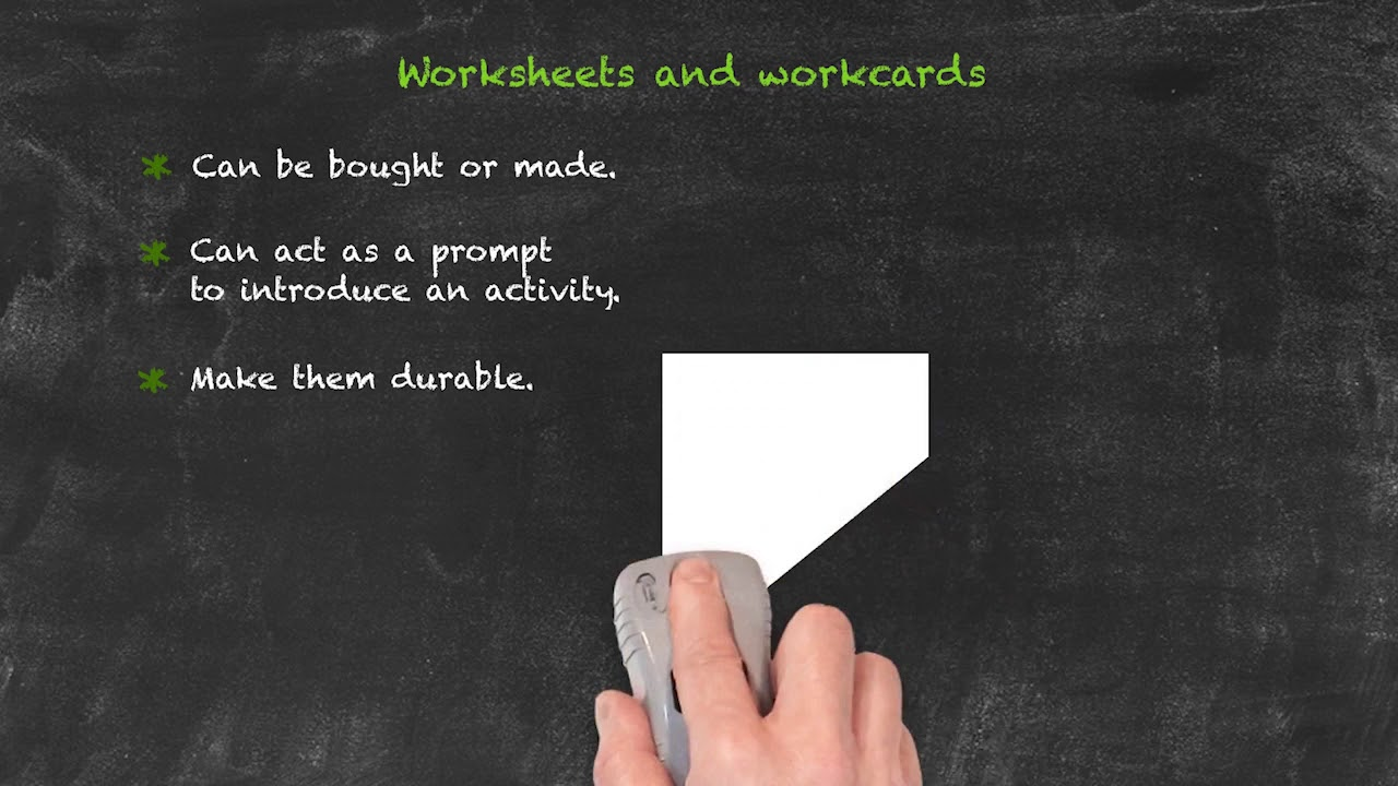 Coursebooks and materials – Worksheets and Workcards