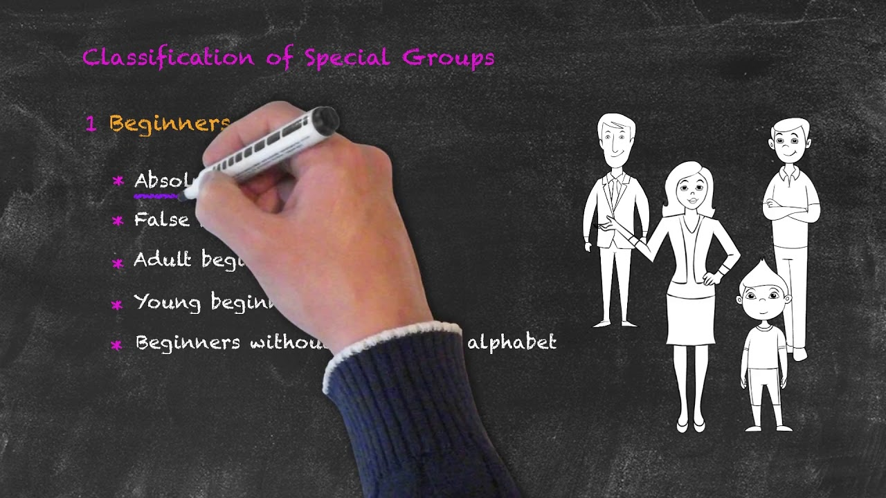 Teaching Special Groups in ESL – The Types of Beginners