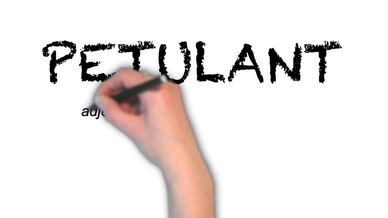 How To Pronounce 'PETULANT' | Ask Linda! | Pronunciation
