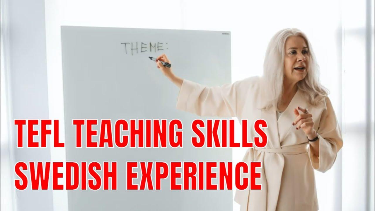 Teaching Skills From the Swedish Curriculum and TEFL Syllabus Perspective   ITTT   TEFL Blog