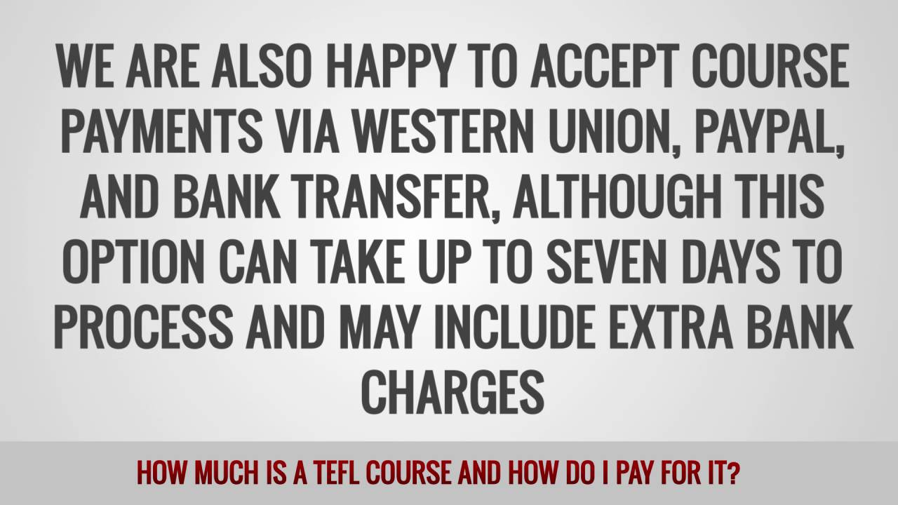 ITTT FAQs – How much is a TEFL course and how do I pay for it?