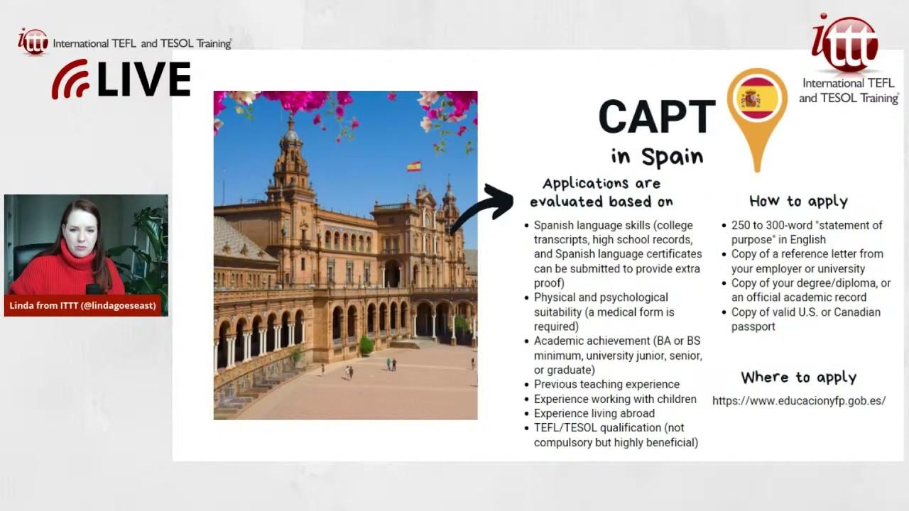 Teaching English Abroad: CAPT Program in Spain