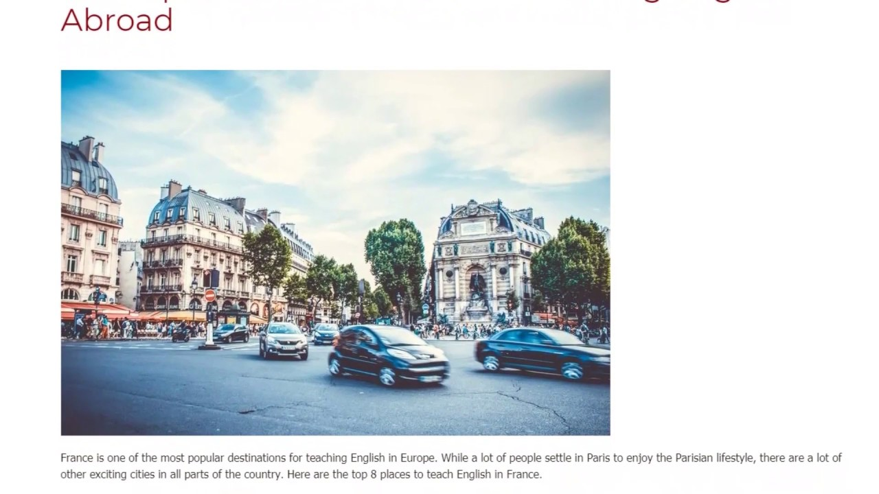 The Top 8 Cities in France For Teaching English Abroad | ITTT TEFL BLOG