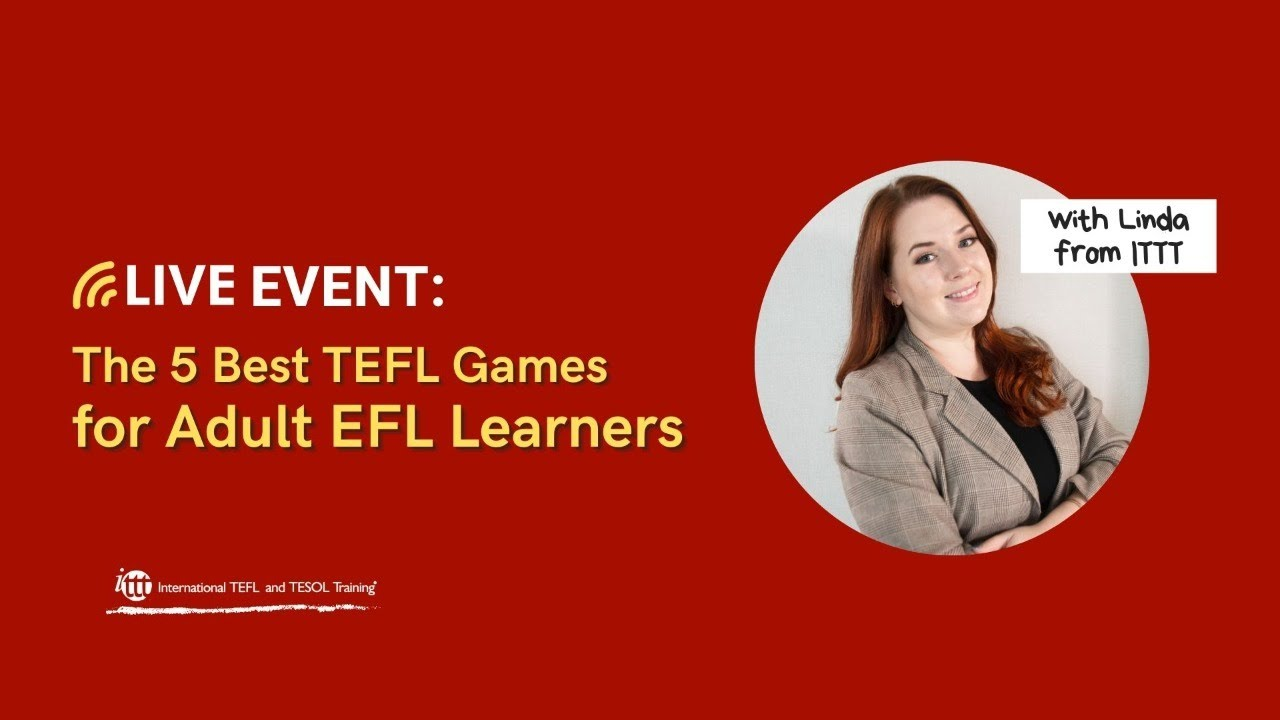 The 5 Best TEFL Games for Adult Students