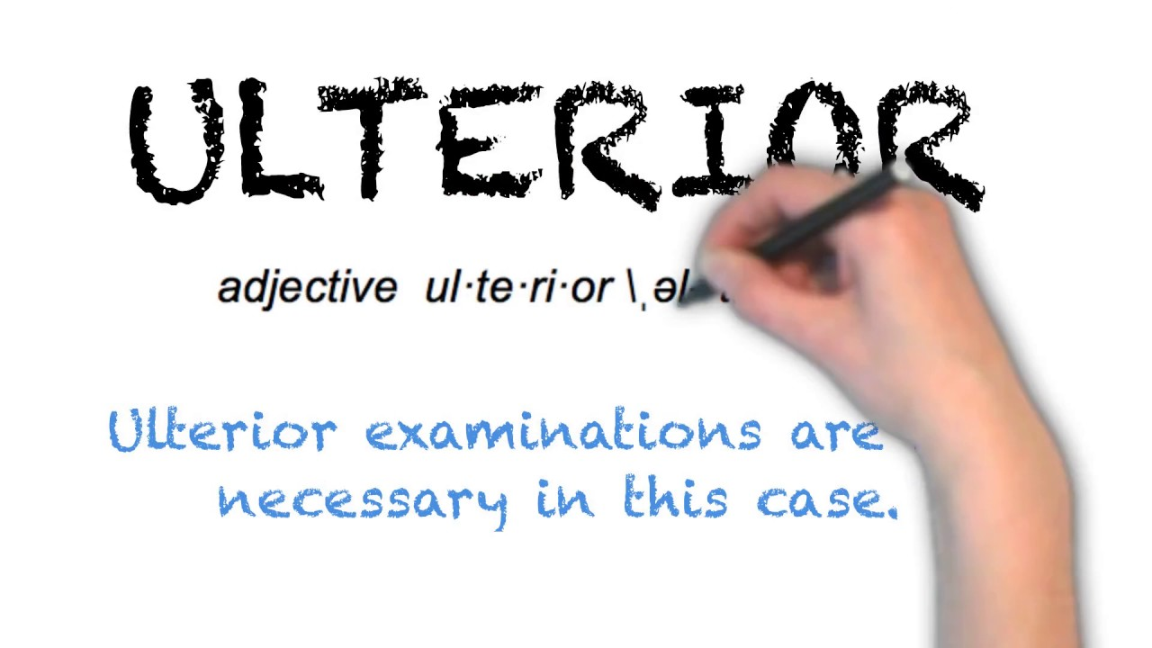 How To Pronounce 'ULTERIOR' | Ask Linda! | Pronunciation