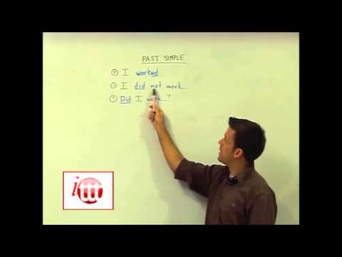English Grammar – Past Simple – Structure — TEFL Course