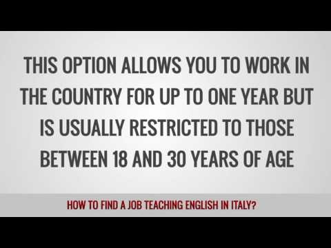 ITTT FAQs – How to find a job teaching English in Italy